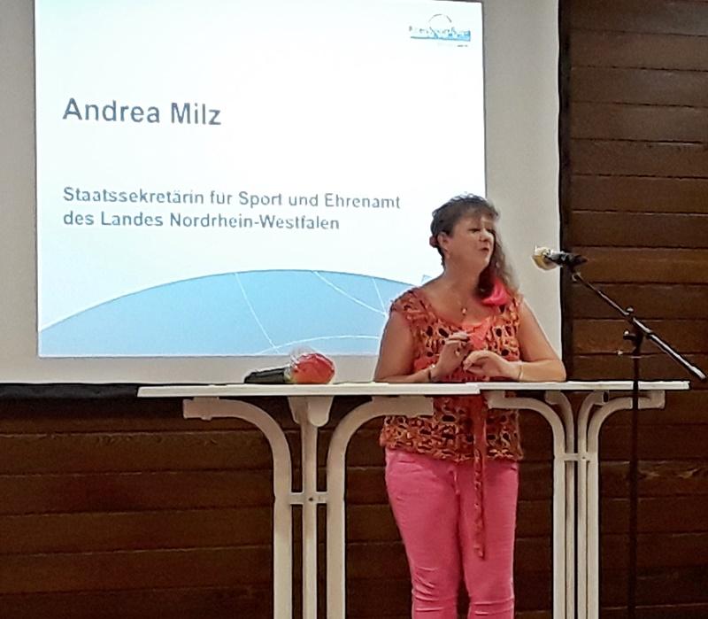 Staatssekretärin Andrea Milz