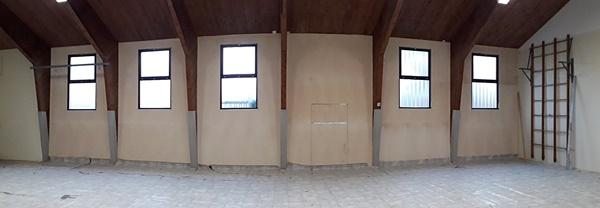 Hallenfenster innen